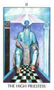 The High Priestess Tarot card in Tarot of the Spirit Tarot deck