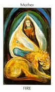 Mother of Fire Tarot card in Tarot of the Spirit Tarot deck