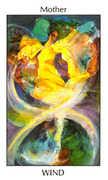 Mother of Wind Tarot card in Tarot of the Spirit Tarot deck