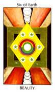 Six of Earth Tarot card in Tarot of the Spirit Tarot deck