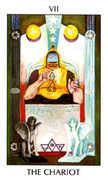 The Chariot Tarot card in Tarot of the Spirit Tarot deck