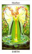 Mother of Earth Tarot card in Tarot of the Spirit Tarot deck