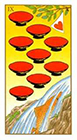 ukiyoe - Nine of Cups