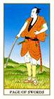ukiyoe - Page of Swords