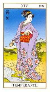 The Guide Tarot Card - Ukiyoe Tarot Deck