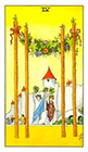 universal-waite - Four of Wands