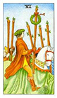 universal-waite - Six of Wands
