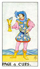 universal-waite - Page of Cups