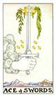 universal-waite - Ace of Swords