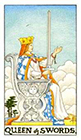 universal-waite - Queen of Swords