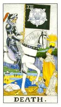 Death Tarot Card - Universal Waite Tarot Deck