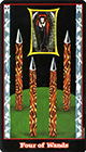 vampire - Four of Wands
