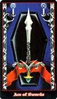 vampire - Ace of Swords