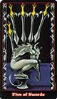 vampire - Five of Swords