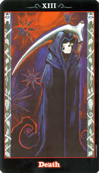 Death Tarot Card - Vampire Tarot Deck