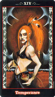 The Guide Tarot Card - Vampire Tarot Deck
