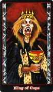 King of Cups Tarot card in Vampire Tarot deck