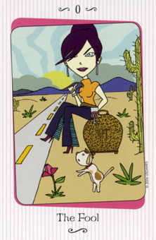 The Fool Tarot Card - Vanessa Tarot Deck