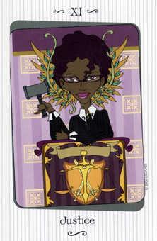 Justice Tarot Card - Vanessa Tarot Deck
