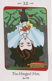 The Hanged Man Tarot Card - Vanessa Tarot Deck