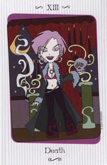Death Tarot Card - Vanessa Tarot Deck