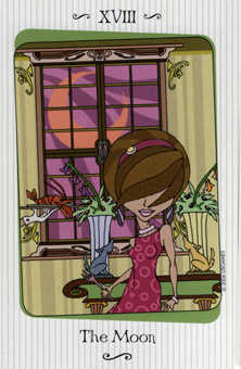 The Moon Tarot Card - Vanessa Tarot Deck
