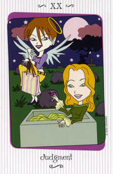Judgment Tarot Card - Vanessa Tarot Deck