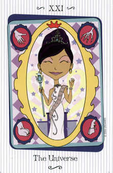 The Universe Tarot Card - Vanessa Tarot Deck
