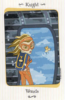 Totem of Pipes Tarot Card - Vanessa Tarot Deck
