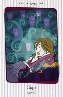 Seven of Water Tarot Card - Vanessa Tarot Deck