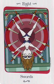 Eight of Rainbows Tarot Card - Vanessa Tarot Deck