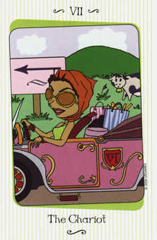 The Chariot Tarot Card - Vanessa Tarot Deck