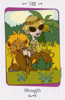 Strength Tarot Card - Vanessa Tarot Deck