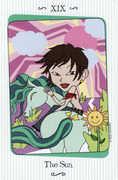 The Sun Tarot card in Vanessa Tarot deck