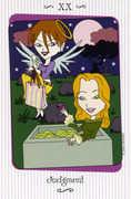 Judgement Tarot card in Vanessa deck