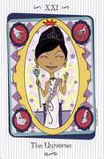 The Universe Tarot card in Vanessa deck
