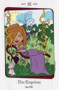 The Empress Tarot card in Vanessa deck