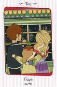 Ten of Cups Tarot card in Vanessa Tarot deck