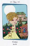 Ten of Coins Tarot card in Vanessa Tarot deck