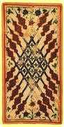Ten of Wands Tarot card in Visconti-Sforza Tarot deck