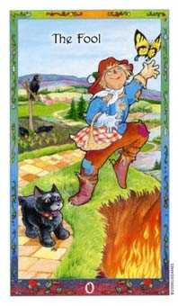 The Foolish Man Tarot Card - Whimsical Tarot Deck