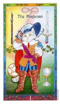 The Magician Tarot Card - Whimsical Tarot Deck