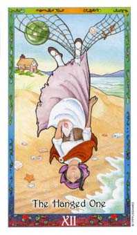 The Hanged Man Tarot Card - Whimsical Tarot Deck