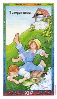 Temperance Tarot Card - Whimsical Tarot Deck