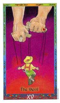The Devil Tarot Card - Whimsical Tarot Deck