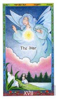 The Star Tarot Card - Whimsical Tarot Deck