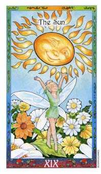 The Sun Tarot Card - Whimsical Tarot Deck