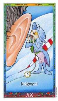 The Judgment Tarot Card - Whimsical Tarot Deck