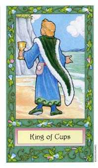King of Cups Tarot Card - Whimsical Tarot Deck