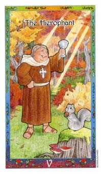 The Pope Tarot Card - Whimsical Tarot Deck